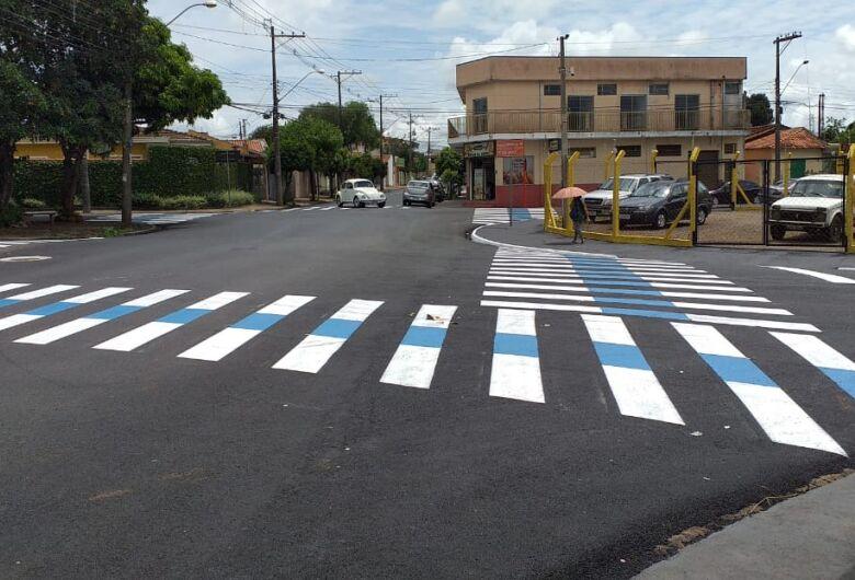 Prefeitura atende solicitação de Malabim e sinaliza a rua Iwagiro Toyama