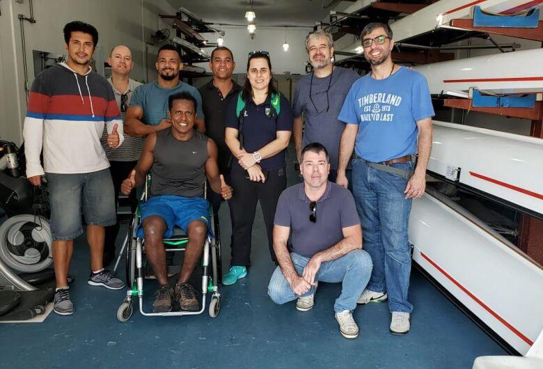 UFSCar desenvolve adaptações em barco a remo para atleta paralímpico