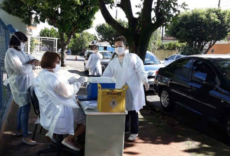 Departamento de Enfermagem da UFSCar apoia a campanha de vacinação em São Carlos