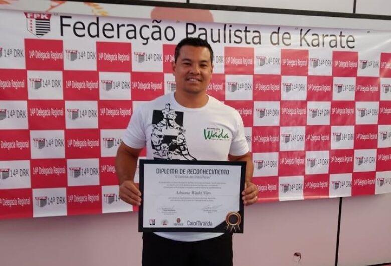 Técnico são-carlense é homenageado em São Paulo