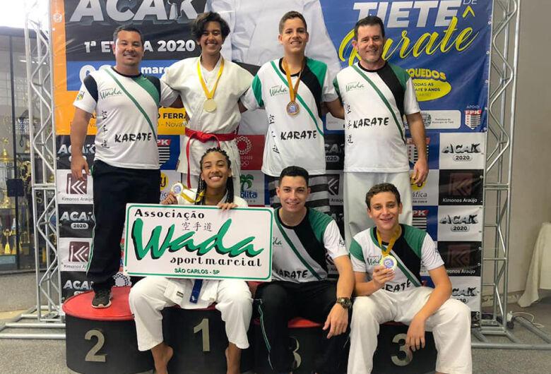Equipe Wada inicia temporada com vitórias