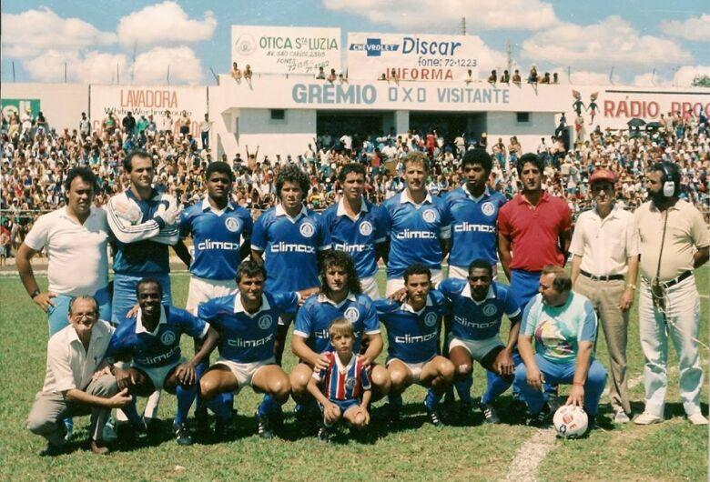 Grêmio São-carlense completaria neste dia 19, 44 anos