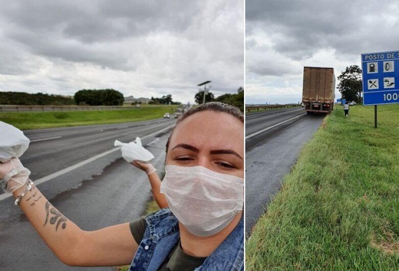 São-carlenses demonstram gesto de grandeza e fornecem refeições para caminhoneiros