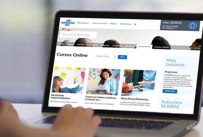 Sebrae-SP oferece 117 cursos online gratuitos