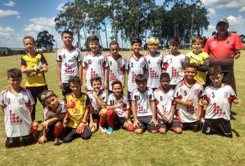 Salesianos sub11 é vice-campeão do Festival de Futebol da Ferroviária