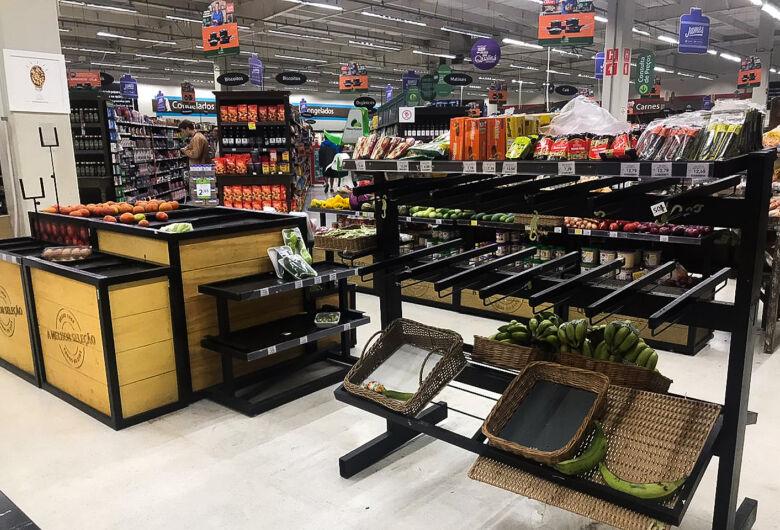 Coronavírus: movimento nos supermercados cresce 18%