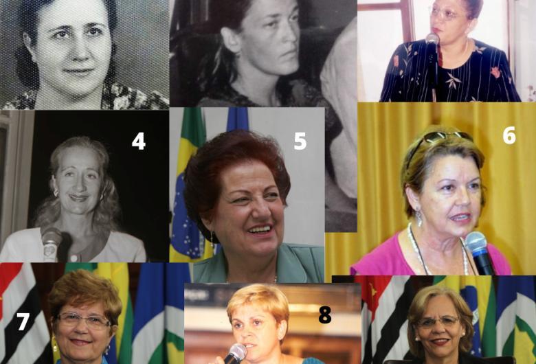Em 155 anos, nove mulheres exerceram mandatos na Câmara Municipal de São Carlos