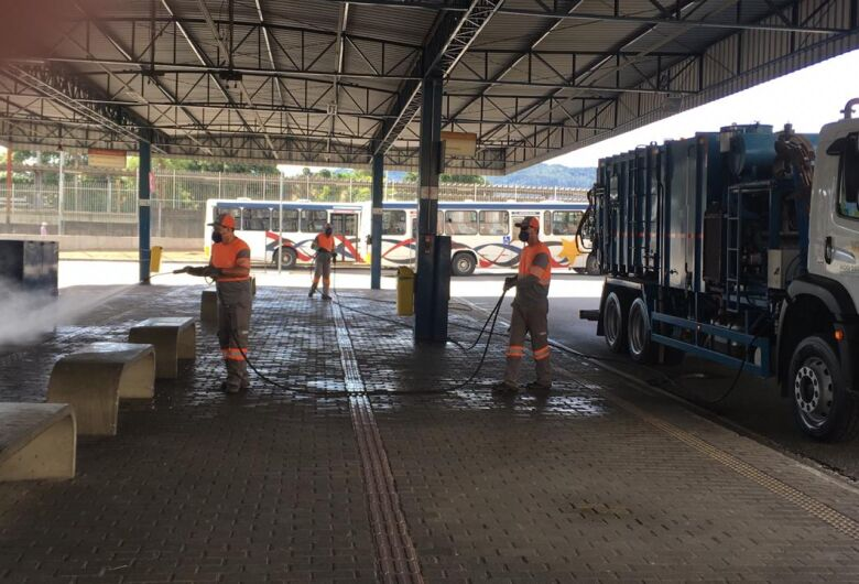 Sabesp e prefeituras usam equipamento produzido em São Carlos para desinfecção de áreas públicas
