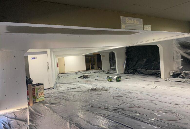 Maior ginásio de esportes do interior de SP, Milton Olaio começa a se transformar em hospital de campanha