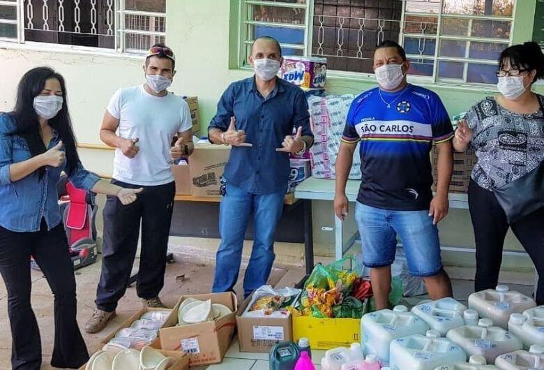 Ciclistas e amigos continuam com ações sociais em São Carlos