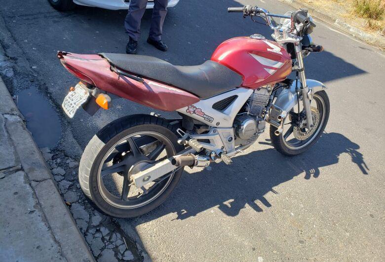 Moto furtada em São Carlos é localizada em Ibaté