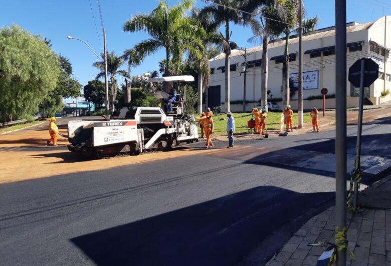 Prefeitura finaliza obra na rua São Paulo e trânsito será liberado nesta quinta-feira (28)