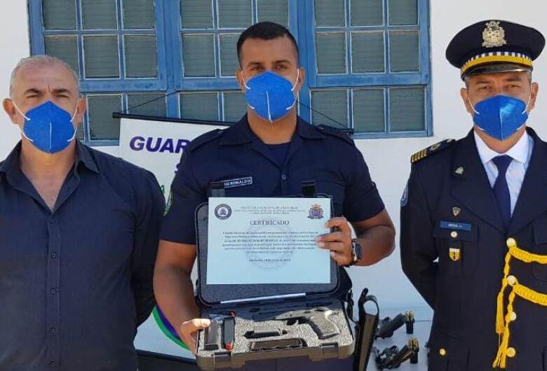 Guarda Municipal de São Carlos já trabalha armada