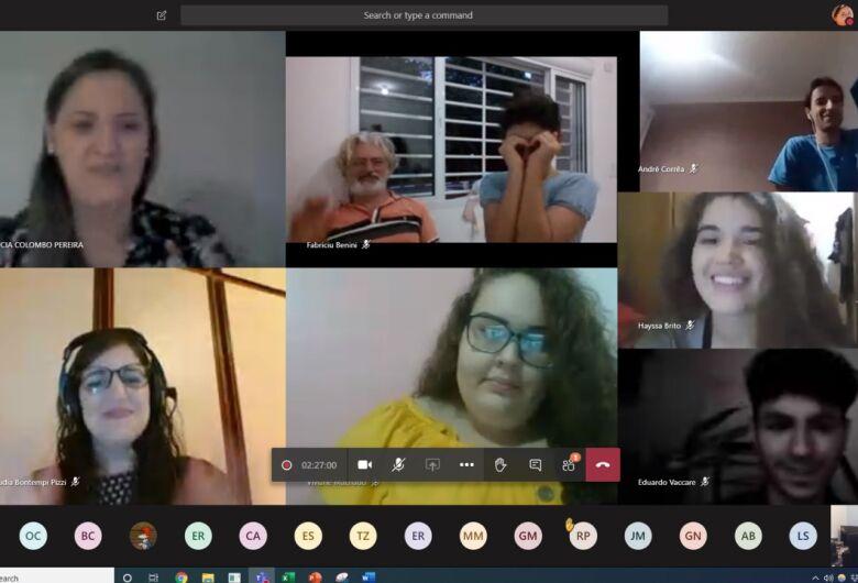 IFSP São Carlos leva cultura para casa através do I Sarau Online da Língua Portuguesa