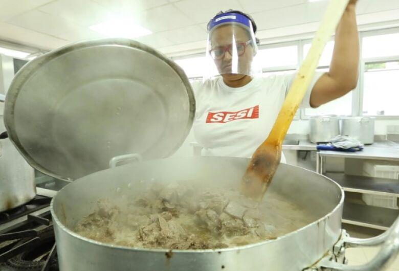 Região de São Carlos, Araraquara e Matão receberá 14.100 refeições por dia do Sesi