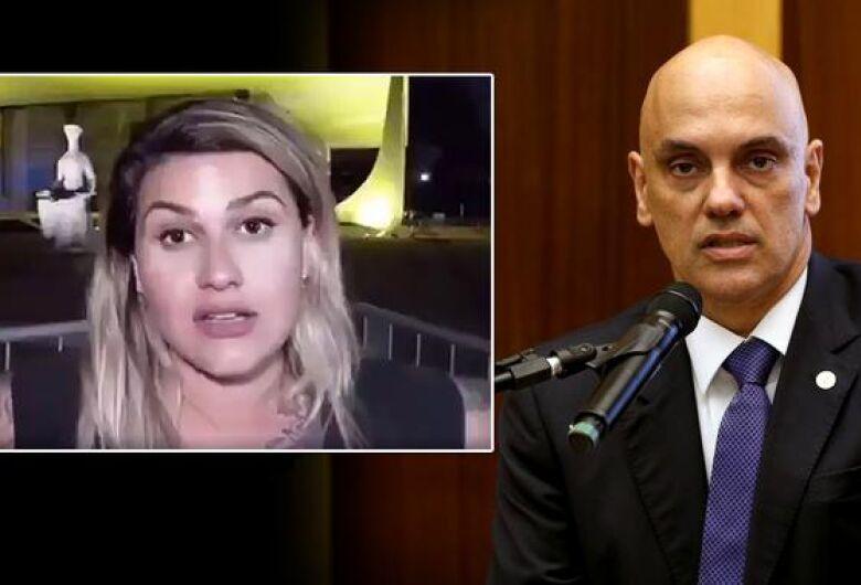 Alvo de operação, são-carlense Sara Winter ameaça ministro do STF: 'A gente vai infernizar sua vida'