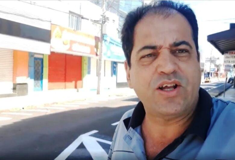 Sérgio Rocha cobra abertura do comércio e faz alerta para desemprego e lojas fechando