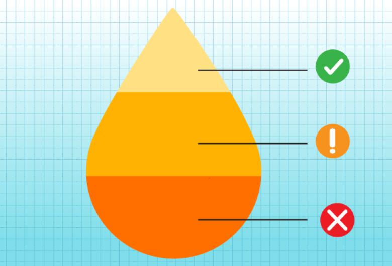 O que a cor da urina pode revelar sobre a saúde das pessoas