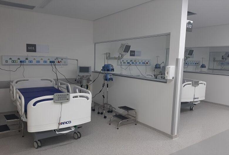 Hospital Universitário (HU) da UFSCar inaugura 10 leitos de UTI nesta sexta-feira (15)