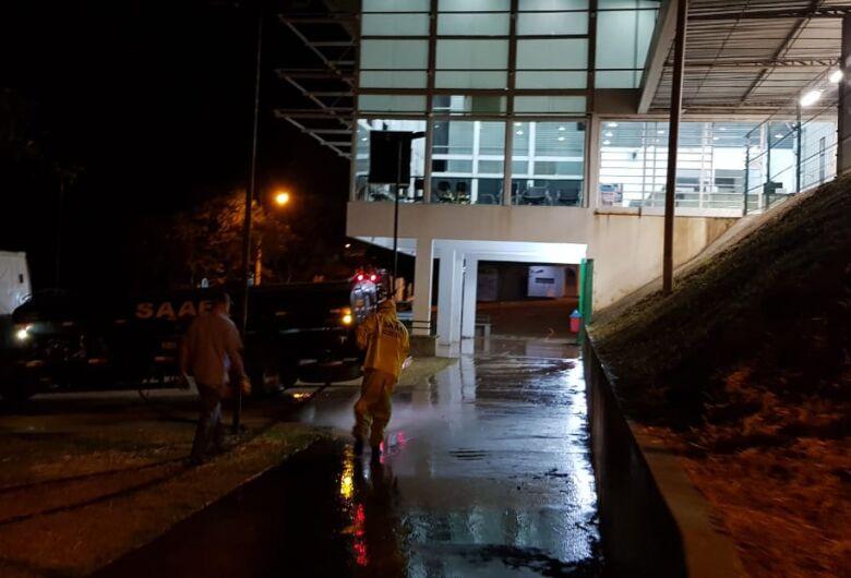 Confira a programação de desinfecção de ruas em São Carlos