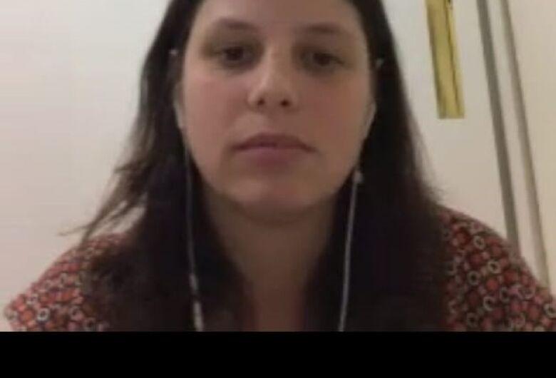 Psicóloga do Comitê Paralímpico Brasileiro faz reunião online com atletas e técnicos da LCN/Aquário Fitness
