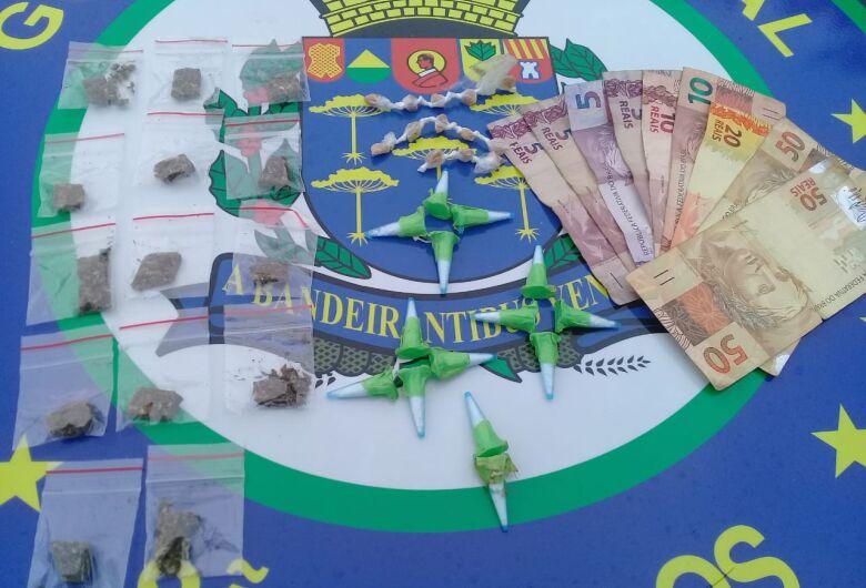 GM desmancha aglomeração e detém traficantes no Cidade Aracy