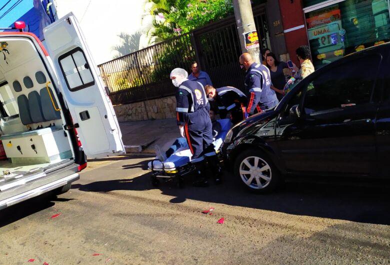 Colisão traseira na Vila Prado deixa motociclista ferido