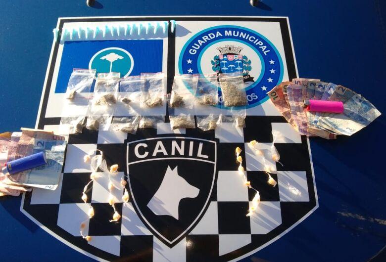 GM e seu canil detêm adolescentes por tráfico no Santa Angelina