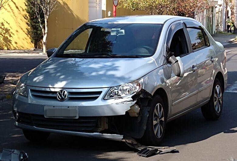 Entregador de gás fica ferido em acidente no Planalto Paraíso