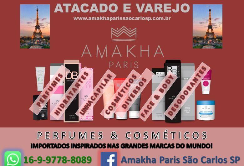 Amakha Paris oferece perfumes importados por R$ 36,00