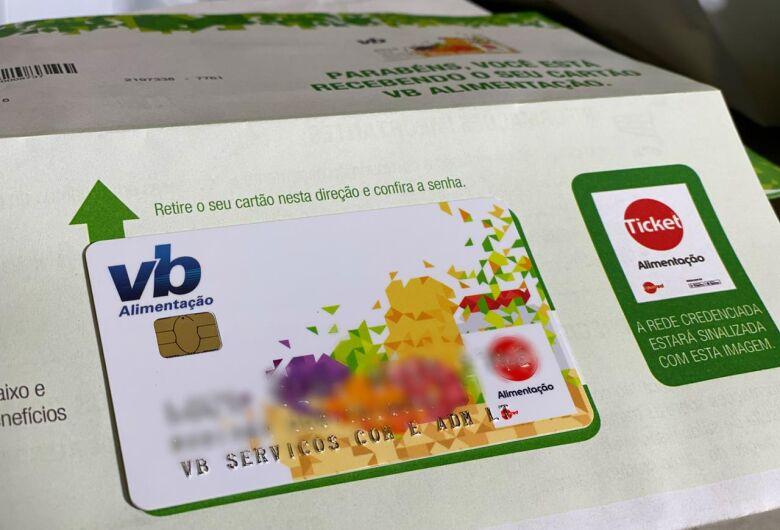 Prefeitura recebe cartões da merenda e distribuição será feita pelo Correios