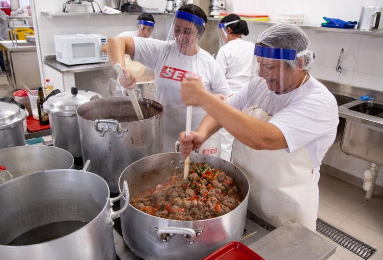 Sesi-SP estende para o mês de junho a distribuição de refeições gratuitas para comunidades carentes