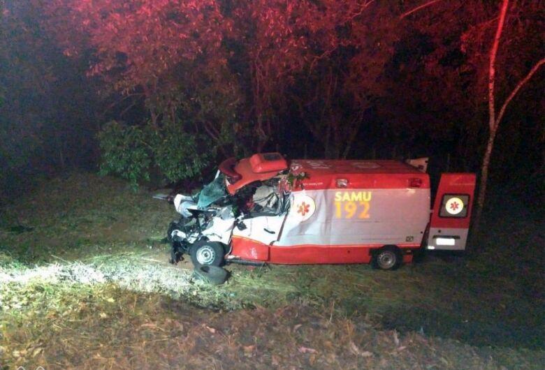 Morre paciente que era transportado por ambulância do Samu que se envolveu em grave acidente