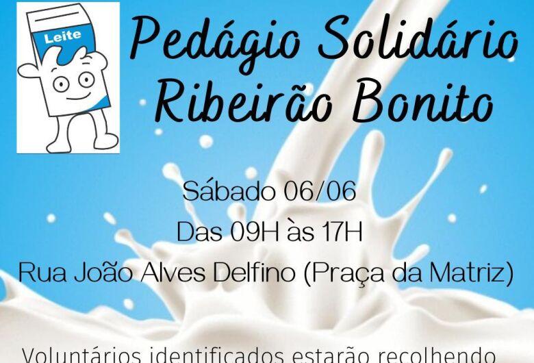 Projeto busca arrecadar leite e alimentos para população carente de Ribeirão Bonito