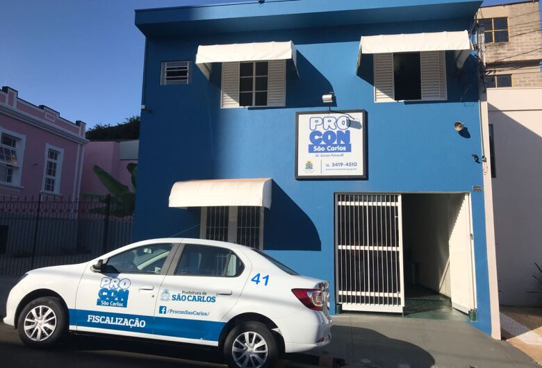 Procon São Carlos divulga balanço do primeiro semestre de 2020