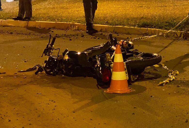 Violento acidente mata motociclista em cidade da região