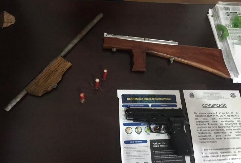 Homem é preso por porte ilegal de arma de fogo no Cidade Aracy II