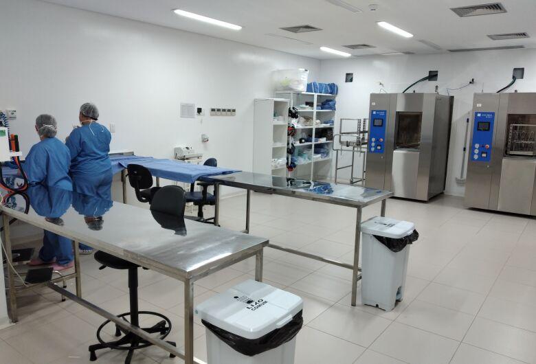 Hospital Universitário inaugura Centro de Material e Esterilização