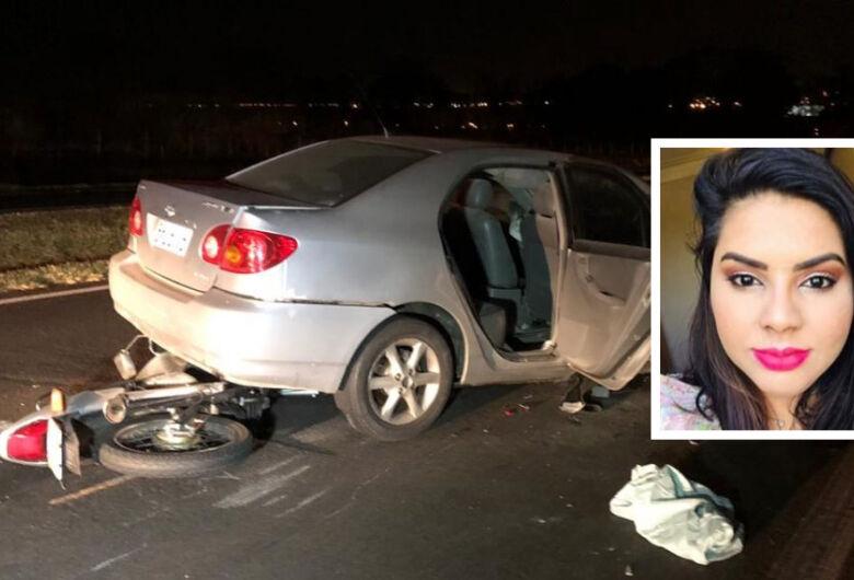 Colisão traseira mata mulher em rodovia da região