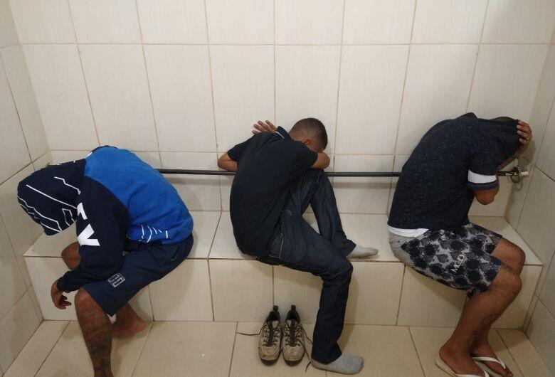 São-carlenses são presos após assalto a residência em Ibaté