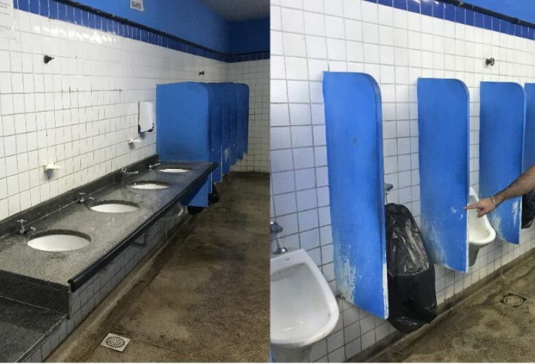 Vereador Rodson pede a manutenção do banheiro público do Mercado Municipal