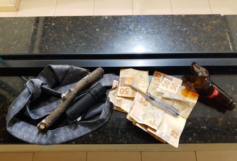 Bandido é preso pela PM durante assalto no Nova Santa Paula