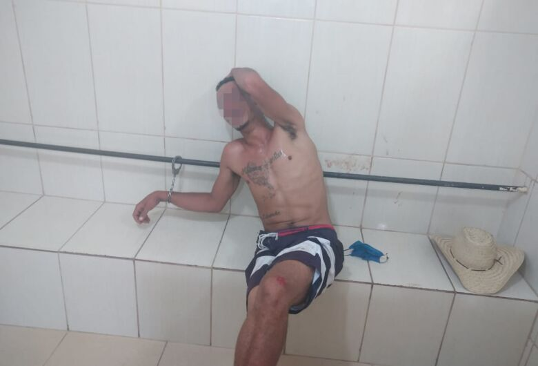 Jovem é detido após furto em residência na Vila Jacobucci
