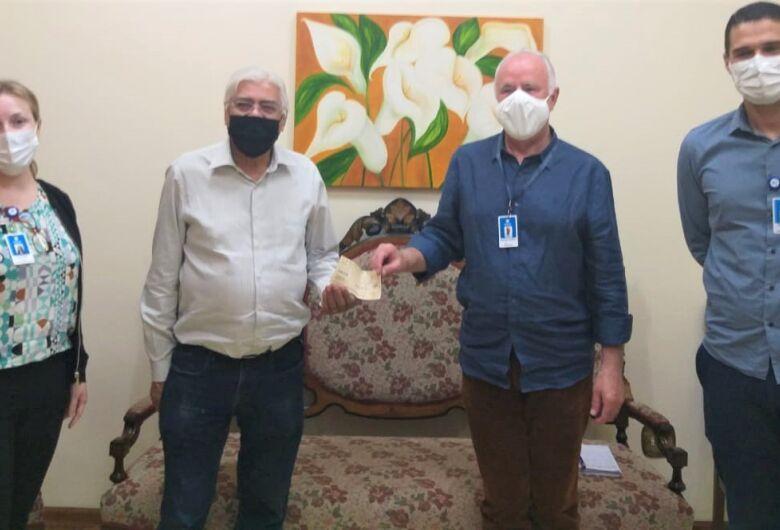 Santa Casa recebe doação de salário de vereador Azuaite pelo terceiro mês consecutivo