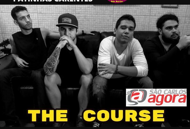 Live da banda The Course irá ajudar o Clube dos Patinhas Carentes