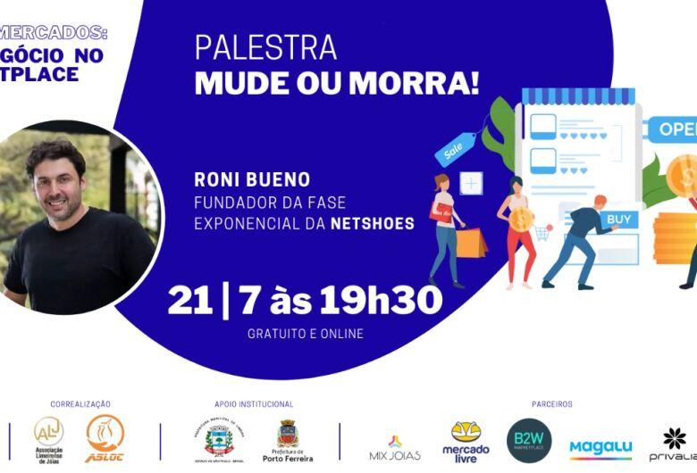 Sebrae-SP oferece palestra gratuita online com Roni Bueno sobre a Nova Economia