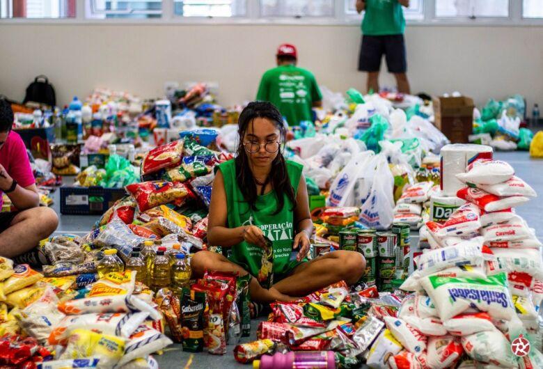 Operação Natal faz ação para auxiliar instituições de São Carlos