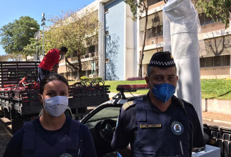 IFSC/USP São Carlos cede descontaminador de ar para Guarda Municipal de São Carlos