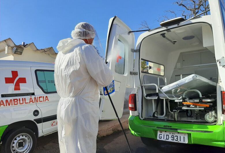 Covid-19: Ibaté segue protocolo sanitário rigoroso em relação ao uso de ambulâncias