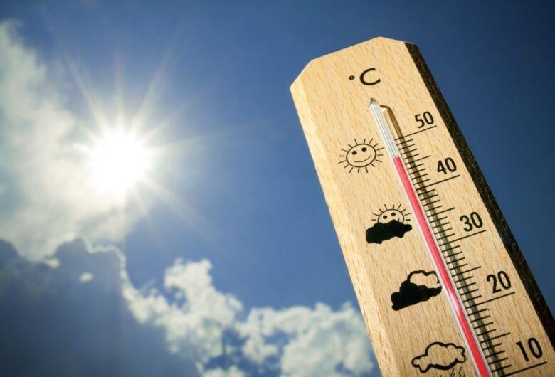 Final de semana será de sol e calor no período da tarde